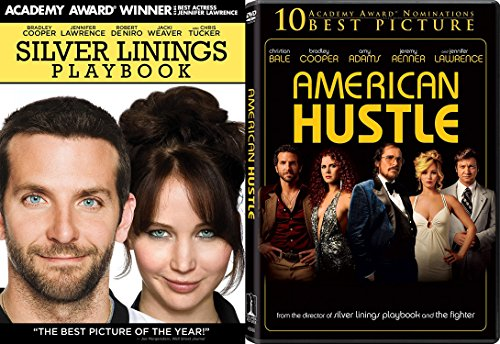 Jennifer Lawrence 2-Movie Bundle - American Hustle & Silver Linings Playbook Collection