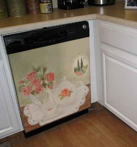 Appliance Art Time Dishwasher Cover