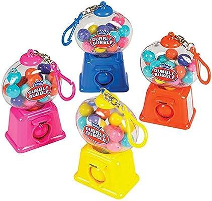 "4"" Gumball Dispenser Carabiner Keychain - 12 Pack Mini Backpack Hook -  Keyring for Bag and Belt Loop Accessory, Back to School Item, Arts &  Crafts,"