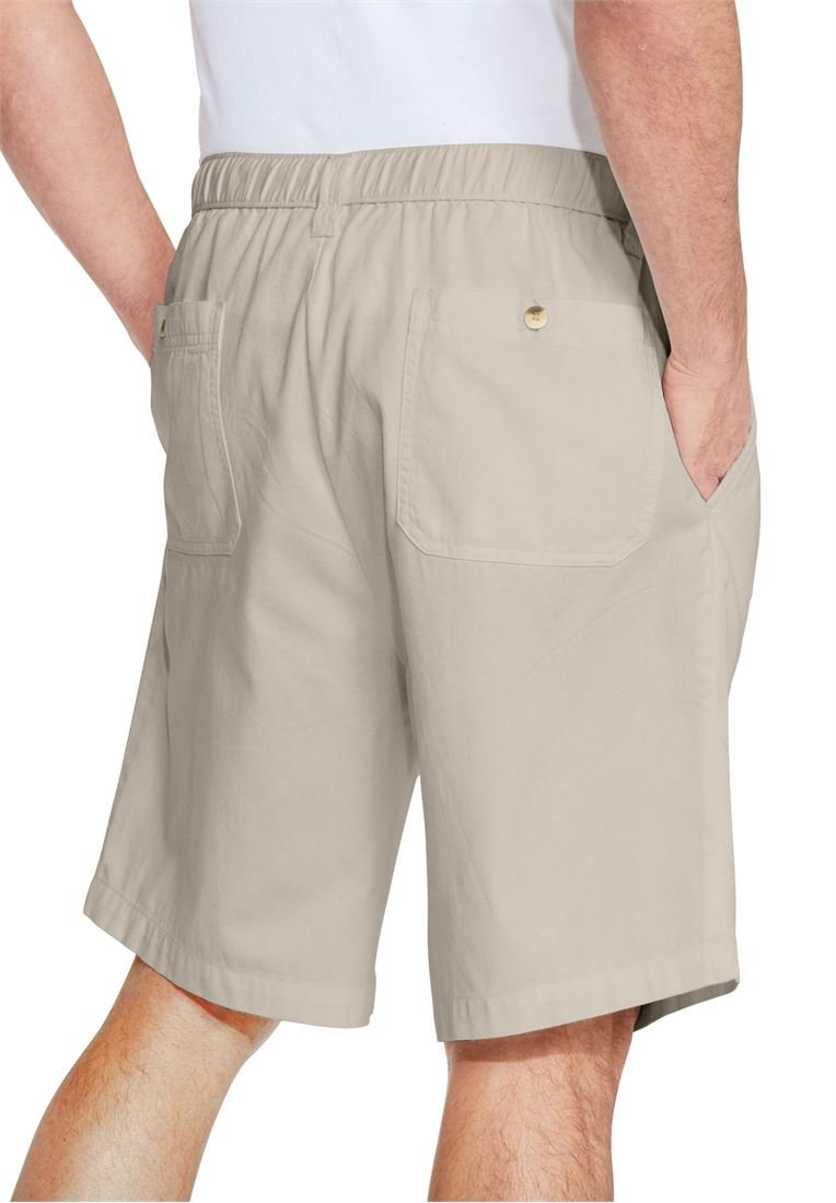 KingSize Men's Big & Tall Knockarounds 8'' Pleat Front Shorts, Stonewash Tall-XL by KingSize (Image #2)