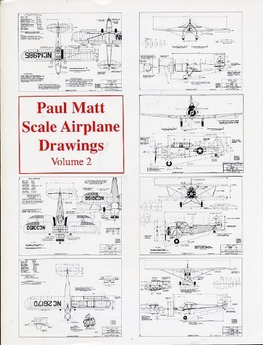 Airplane Scale Drawings - Scale Airplane Drawings: 002