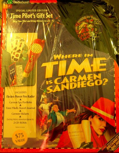 Where In Time Is Carmen San Diego Time Pilot Gift Set