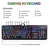 Mechanical-Gaming-Keyboard-Elepawl-USB-Wired-RGB-Backlit-Keyboard-Full-Size-104-Key-for-PC-Computer-Laptop-Office-Blue-Switches