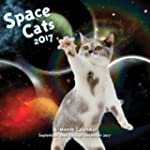 Space Cats 2017: 16-Month Calendar Se...