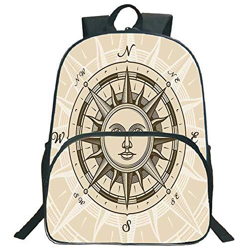 Compass Decor 3D Print 16