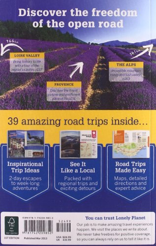 france travel guide lonely planet