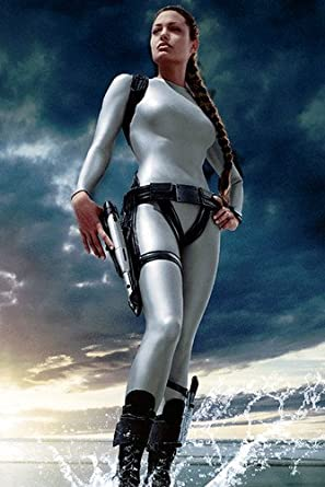 Angelina Jolie Lara Croft Tomb Raider The Cradle Of Life Stunning 24x36 Poster At Amazon S Entertainment Collectibles Store