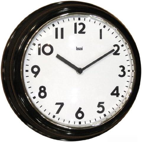 BAI School Wall Clock, Black