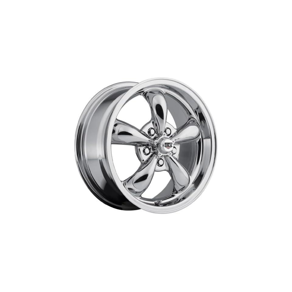 16 inch 16x7 Rev 100C chrome wheel rim; 5x4.75 5x120.65 bolt pattern with a +0 offset. Part Number 100C 6706100 Automotive