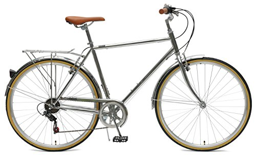 Critical Cycles Beaumont-7 Seven Speed Mens Urban City Commuter Bike