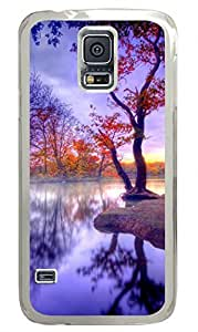Beautiful Scenery Clear Hard Case Cover Skin For Samsung Galaxy S5 I9600