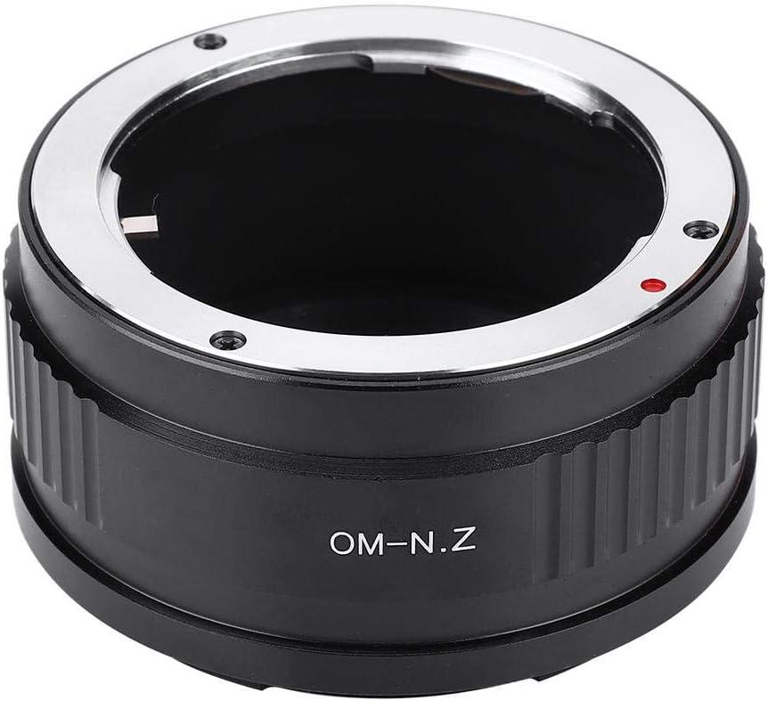 Tosuny Lens Adapter Ring Suitable for Nikon Z Mount Camera Full Frame Mirrorless Z6 Z7 for Olympus OM Lens