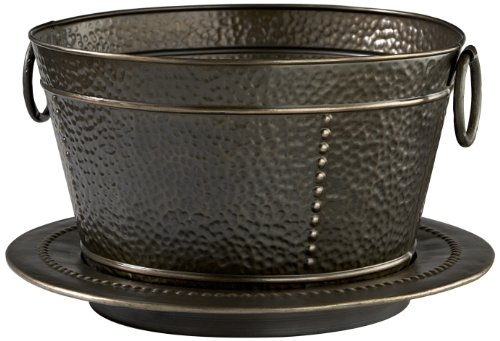 Caffco International Biltmore Inspirations Collection French Market Metal Bucket and - Inch Duo 10 Deck