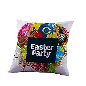 Amazon.com: HYIRI - Funda de almohada de algodón para sofá ...
