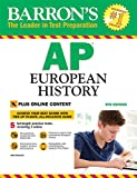 img - for Barron's AP European History, 9th Edition: with Bonus Online Tests book / textbook / text book