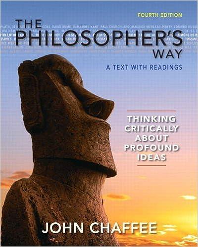 philosophers way chaffee 4th editionphilosophers way chaffee 4th edition