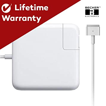 Amazon.com: Becker TM MacBook Pro Charger, 60w Power Adapter ...