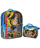"Transformers ""Robots in Disguise"" Backpack with Lunchbox - royal blue, one size"
