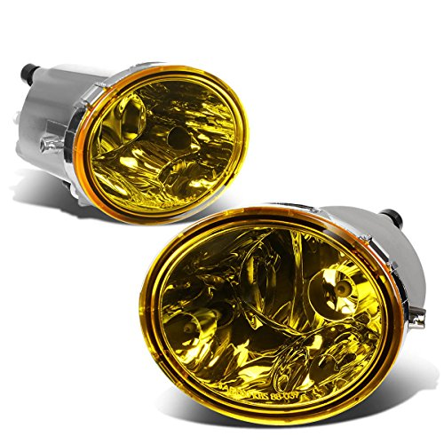 (For Tundra/Sequioa Pair of Driving Fog Lights (Amber Lens))