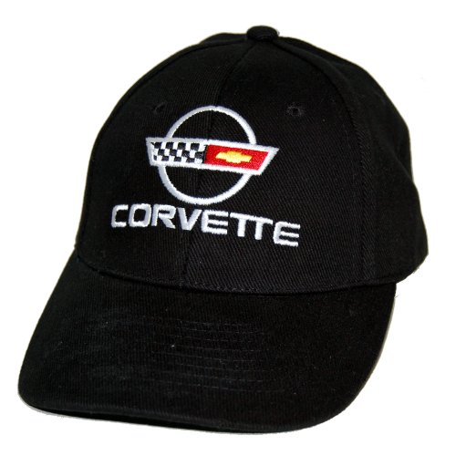 High-End Motorsports Chevrolet Corvette C4 Cotton Twill Black Hat Cap