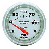 Auto Meter 4427 Ultra-Lite Electric Oil Pressure Gauge