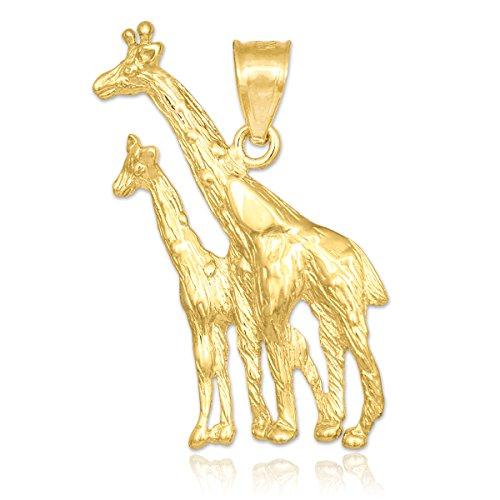 10 ct 471/1000 Or Girafe Pendentif