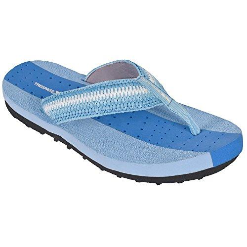 Trespass Damen Flip Flops Missy Aqua Blau