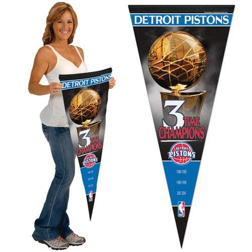 NBA Premium Pennant Team: Detroit Pistons by WinCraft