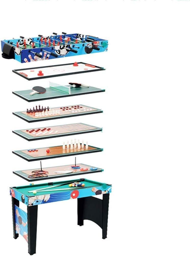 YUHT Mesa multijuegos Multi 12 en 1 Combo Juego de Mesas de Entretenimiento Mesa de 42