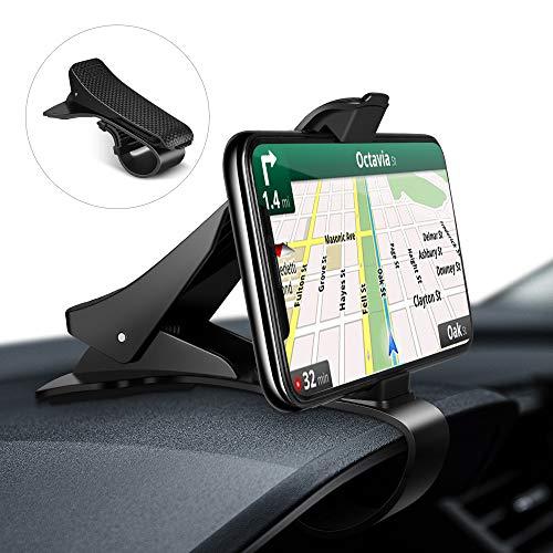 🥇 Modohe Soporte para Teléfono de Coche Montaje Móvil Universal Sujeta de Pinza Fuerte al Salpicadero para GPS Xiaomi Mi 9 Mi 8 Redmi Note 7 iPhone XR XS MAX X 8 7 6 Samsung S10 S9 Huawei P20