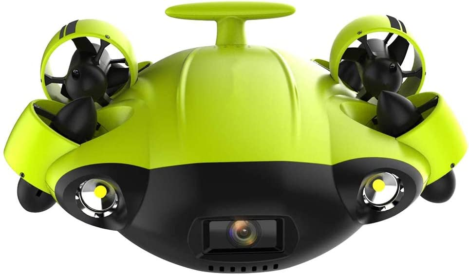 AHELT-J Drone Submarino con Cámara 4K UHD