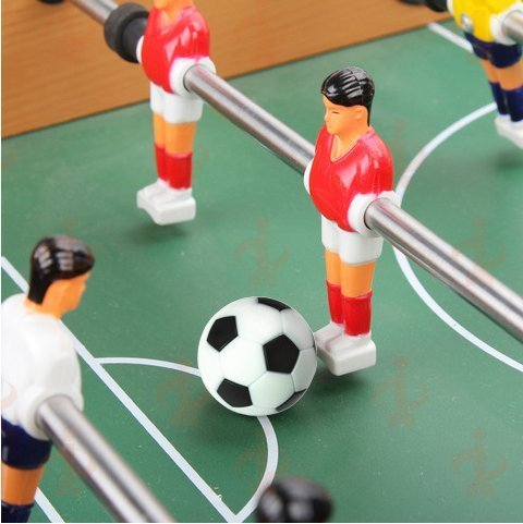 Balles de Rechange Foosball Officielle Noir et Blanc de Football de Table MINGZE 12pcs Balles Baby Foot Boules de Rechange de Baby-Foot de Football de Table de 36mm