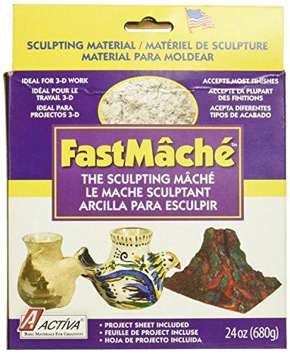 ACTIVA Fast Mache Fast Drying Instant Papier Mache - 2 pounds
