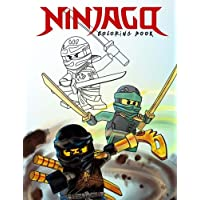 Ninjago Coloring Book: Color all your favorite Characters (Unofficial Art Book)