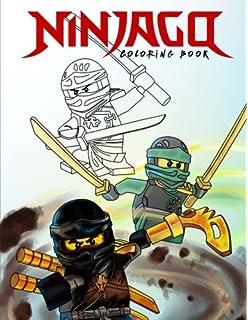 ninjago coloring book color all your favorite characters unofficial art book - Ninjago Coloring Book