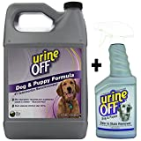 #8: Urine Off Odor and Stain Remover Dog Formula, 1 Gallon + Sprayer Combo