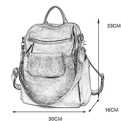 Travel Leisure Handbag Backpack Capacity Messenger Xxbb Large Lady Dual Bag use qzPaTwxq