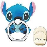 ZOEAST(TM) Phone Ring Disney Cartoon Mickey Universal 360° Rotating Phone Buckle Tablet Finger Grip Ring Stand Holder…