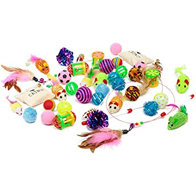 Toys for cats Friends Forever Kitten Toys Variety Pack – Cat Toys... [tag]