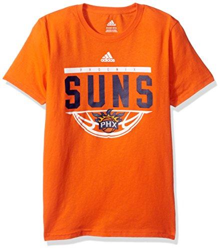 - NBA Youth 8-20 Phoenix Suns Balled Out Short Sleeve Tee-Texas Orange-M(10-12)