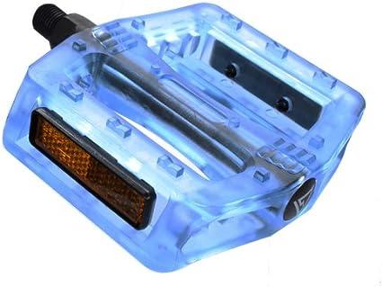 Black Ops Pedals Gummy Translucent 9//16 Blue