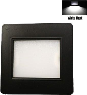 Luz LED para escalera, luz empotrable de pared, sensor de movimiento para el hogar, lámpara de escalera, luces de paso: Amazon.es: Iluminación