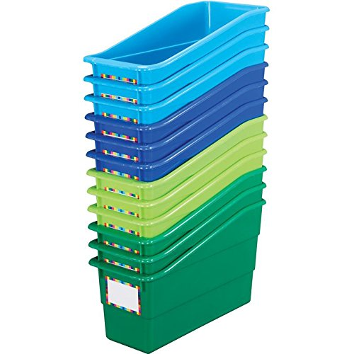 - Really Good Stuff Magazine File Book & Folder Holders - Riverside 12-Pack