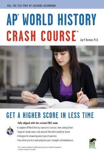 AP World History Crash Course [Advanced Placement [AP] Crash Course] by Harmon, Jay P., Advanced Placement [Research & Education Association,2011] [Paperback]