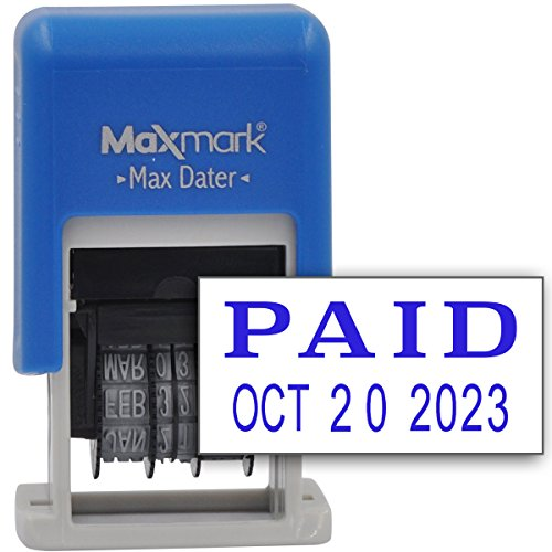maxmark-self-inking-rubber-date-office-stamp-with-paid-phrase-date-blue-ink-max-dater