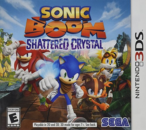 Sonic Boom: Shattered Crystal - Nintendo 3DS (Sonic Games For Nintendo Ds)