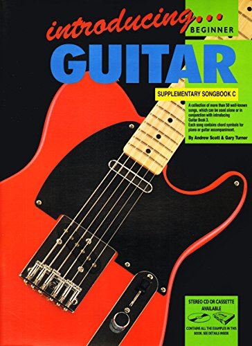 CP72616 - Introducing Guitar Supplimentary Songbook C (Songbook Supplementary)