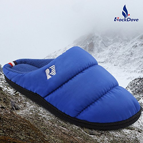 Slippers Blue RockDove Clog Down Foam Royal Shoes Warm House Washable Womens Memory xwwqXOp