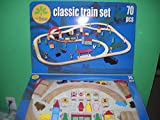 : Little Tree Natural Wood Classic Train Set