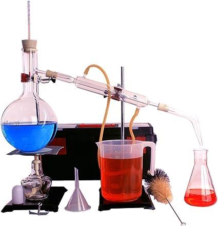 JYKJ Laboratorio Destilador Laboratorio de cristalería Destilador ...